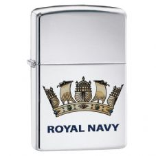 Royal Navy Crest Zippo Lighter